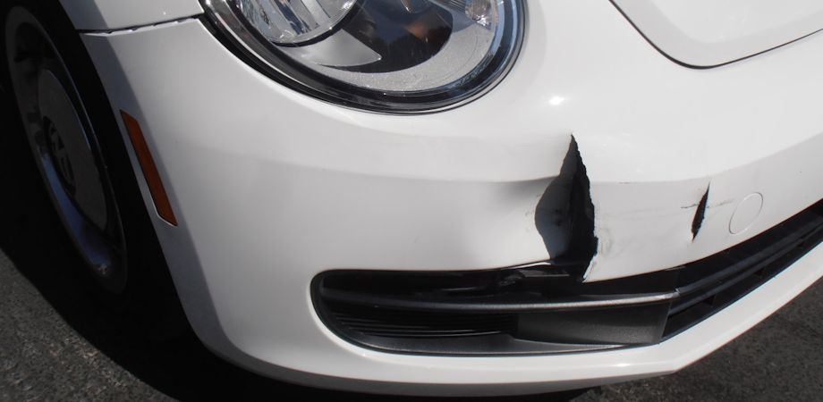 2013 VW Bug Front Bumper: $3100. There were 10 separate parts to the bumper that need to be replaced, parts and tax alone were over $2000.